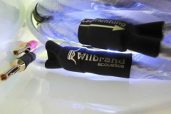 Wilbrand acoustics / QED Signature GENESIS silver spiral